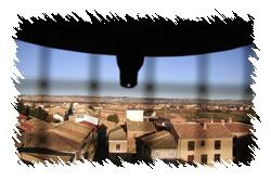 Imagen de una vista panorámica del pueblo desde el campanario